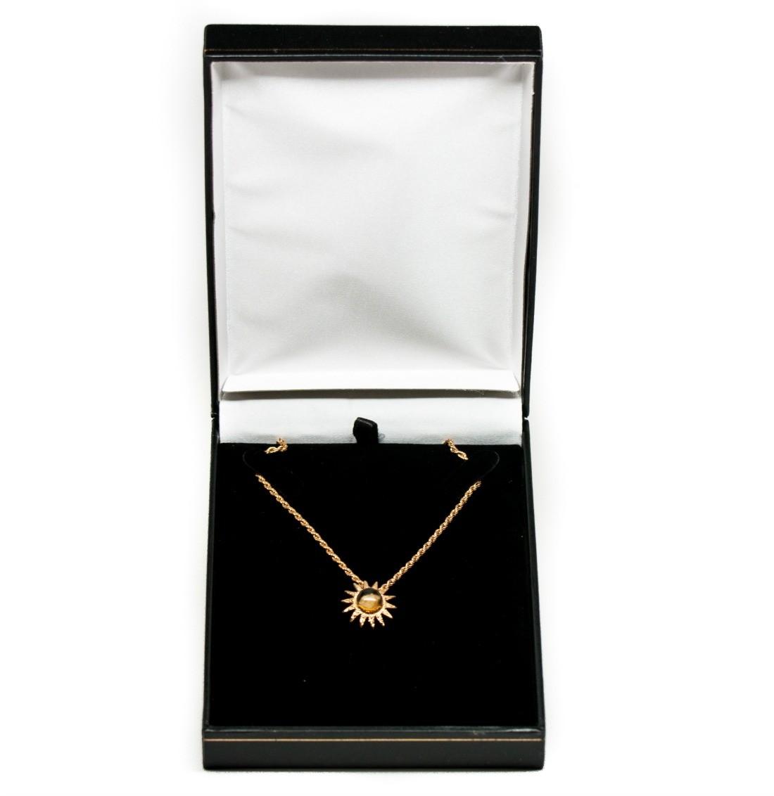 Z Nativity Stones Necklace Gift Box
