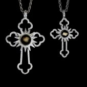 Classic Cross Large & Petite - Sterling Silver